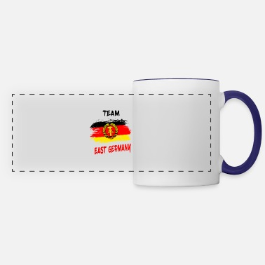 East Germany Team East Germany Gift DDR East Ossi - Panoramic Mug