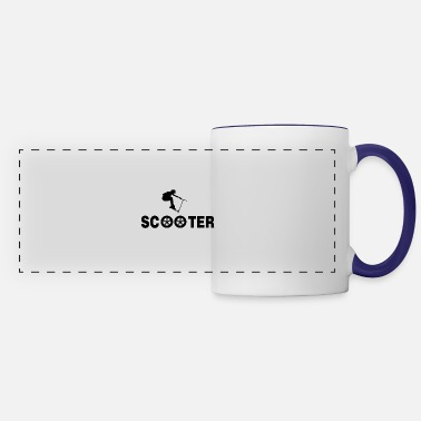 Scooter Scooter scooter electric scooter e-scooter gift - Panoramic Mug