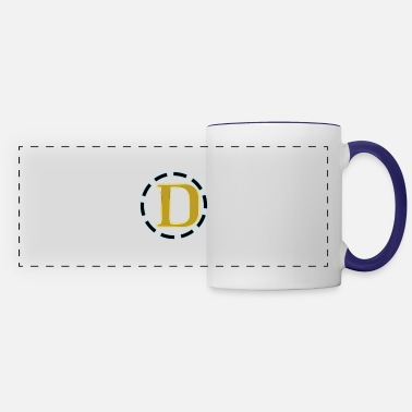 Initial D D Logo spreadshirtbest selling printed tshirts t s - Panoramic Mug