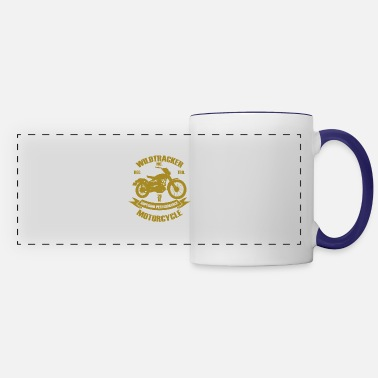 Motor Wildtracker motorcycle lifestyle hobby gift - Panoramic Mug