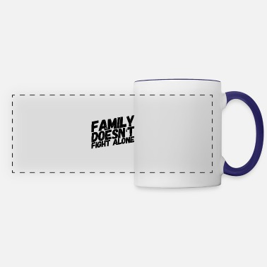 I Love My Family - Panoramic Mug