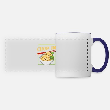 Chop In Dumpling Soup - Panoramic Mug