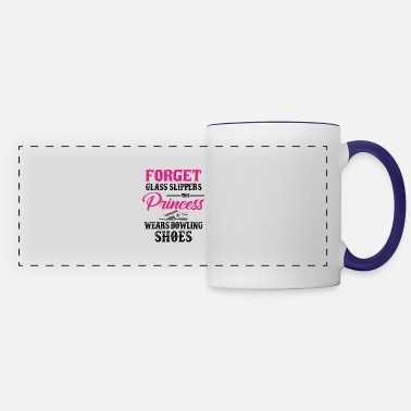 Princess Forget Glass Slippers This Princess Wears Bowling - Panoramic Mug
