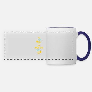 Bumble Bee To Bee or not to Bee - Panoramic Mug
