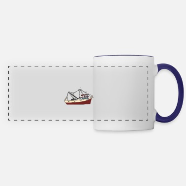 Building Shipbuilder ship boat building engineer harbor lak - Panoramic Mug