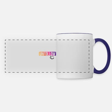 Childhood I unfollow cancer awareness month - Panoramic Mug