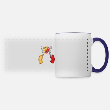 Lunch Lunch Lady Practice Safe Lunch School and Lunch - Panoramic Mug