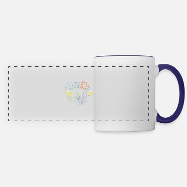 Over Cute Funny Saying Design - Panoramic Mug