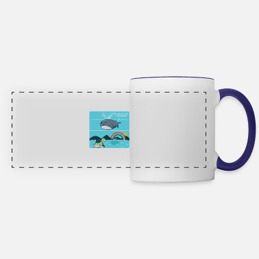 Friends Make A Difference Optimistic and Inspired Gift - Panoramic Mug