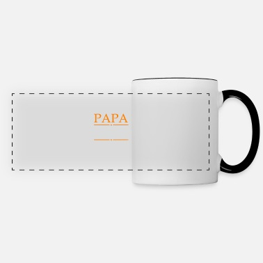 Papa The Man The Myth The Legend Papa The Man The Myth The Legends - Panoramic Mug