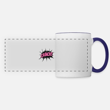Speech Balloon comic speech bubble illustration - Panoramic Mug