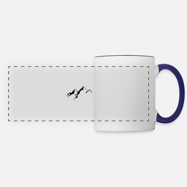 Mountains Mountains - Panoramic Mug