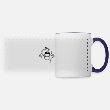 Yell Yelling Baby - Panoramic Mug