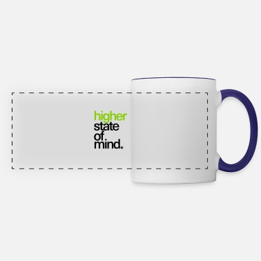 Higher State Of Higher State of Mind. - Panoramic Mug