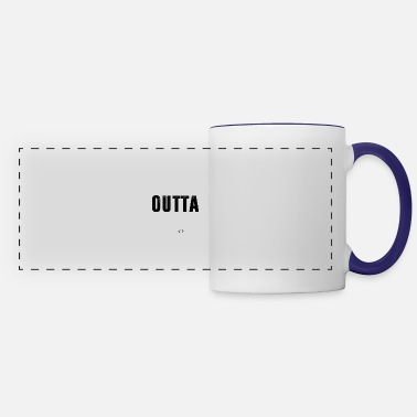 Kindergarten Straight Outta Kindergarten Class of 2018 - Panoramic Mug