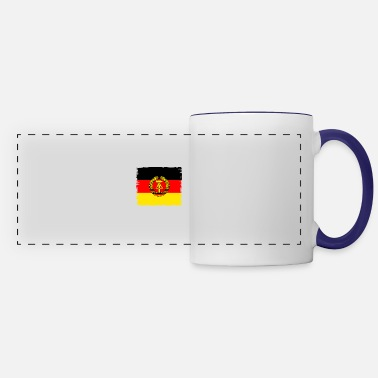 East ddr germany east GDR flag retro wall emblem vintag - Panoramic Mug