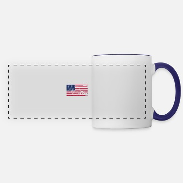 Flag Flag Flag Flag - Panoramic Mug