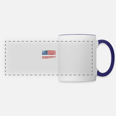 Flag Proud Nurses American Flag Nurse Be To Husband - Panoramic Mug
