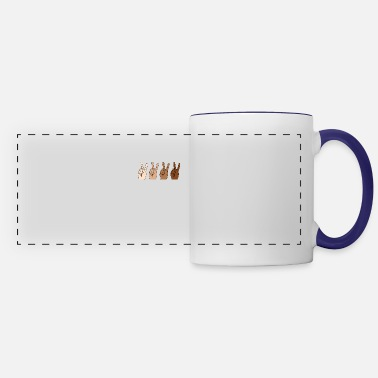 Anti Racism Together We Can Anti Racism Tolerance Supporter - Panoramic Mug