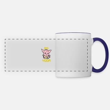 Baby Mrs Yoda with blue eyes - Panoramic Mug