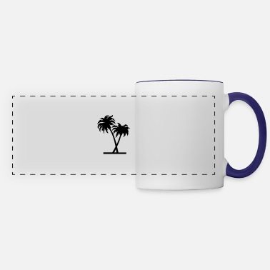 Palm Trees palm - palm tree - Panoramic Mug