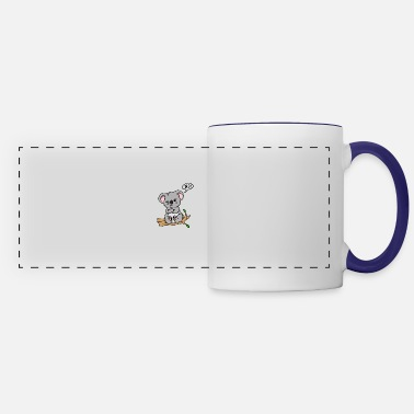 Kola Animal Love No! Koala Cute Gift Idea - Panoramic Mug