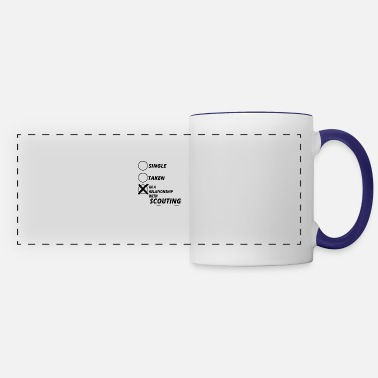 Relationship relationship single taken SCOUTING - Panoramic Mug