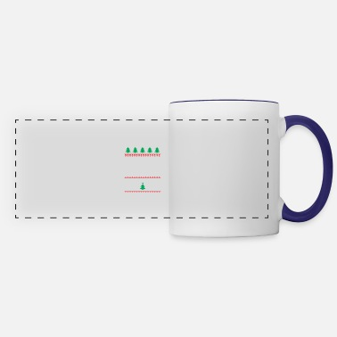 Christmas Bear Hug Festive - Panoramic Mug