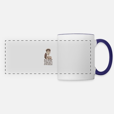 Stop That It's Silly - Panoramic Mug