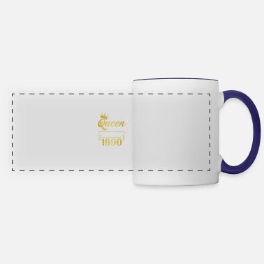 Since The Queen Reigning Since 1990 - Panoramic Mug