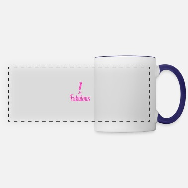 Since 1 and Fabulous - Panoramic Mug