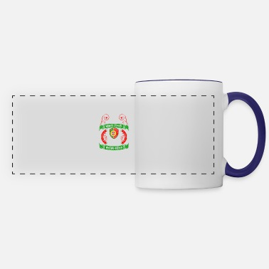 Portuguese Never Underestimate A Portuguese June King - Panoramic Mug