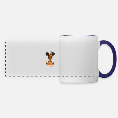 Witch African American Fire Witch - Panoramic Mug
