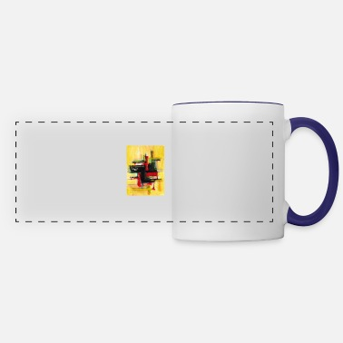 abstract painting t-shirt | abstract painting - Panoramic Mug