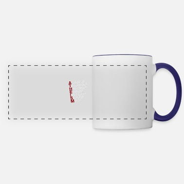 Atheism Atheism - white - Panoramic Mug
