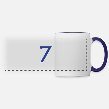 Number ★Cool Number Seven 7-Best Uniform Number-7★ - Panoramic Mug