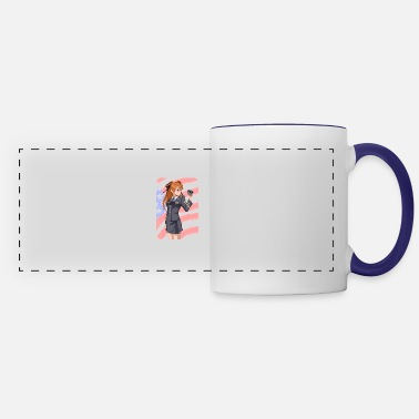 Art Evangelion Fan - Panoramic Mug