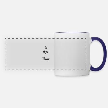 Jesus Christ In God I Trust - Special Edition - Panoramic Mug