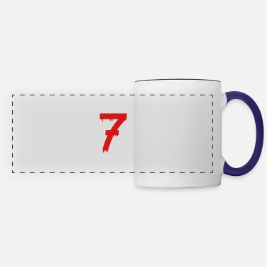Age lucky number seven - Panoramic Mug