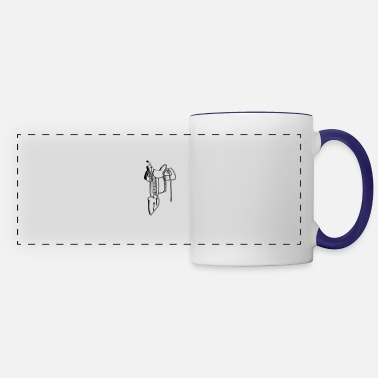 Saddle Cowboy saddle - Panoramic Mug