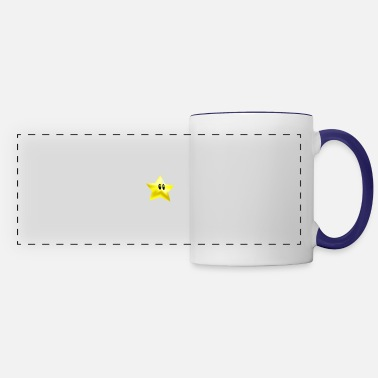 Luigi star from super mario brothers - Panoramic Mug