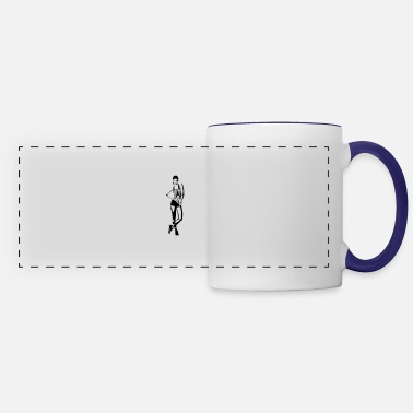 Work Out work out - Panoramic Mug