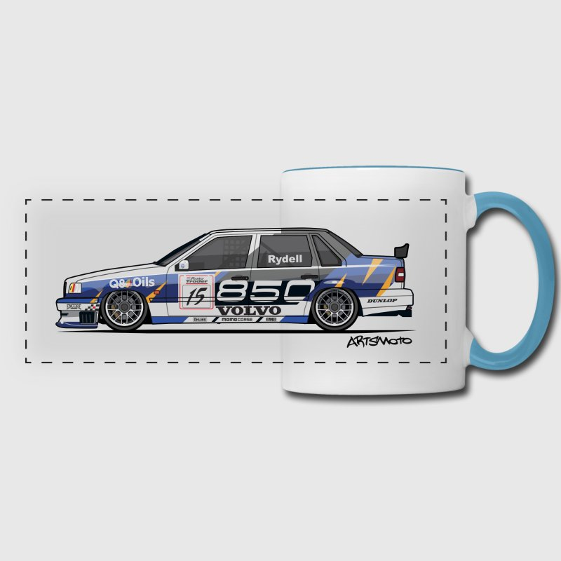 Volvo 850 Saloon TWR BTCC Super Touring Car - Panoramic Mug