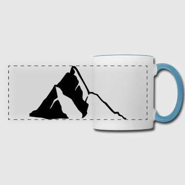 Mountains, Mountain - Panoramic Mug