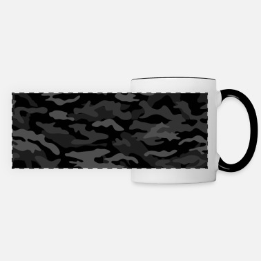 New Age NEW AGE BLACK CAMOUFLAGE - Panoramic Mug