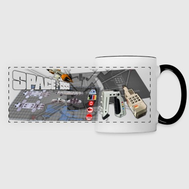 1999 Hardware Collage - Panoramic Mug