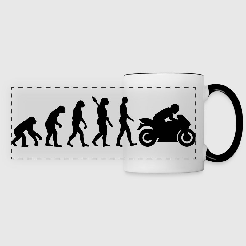 Motorcycle - Panoramic Mug