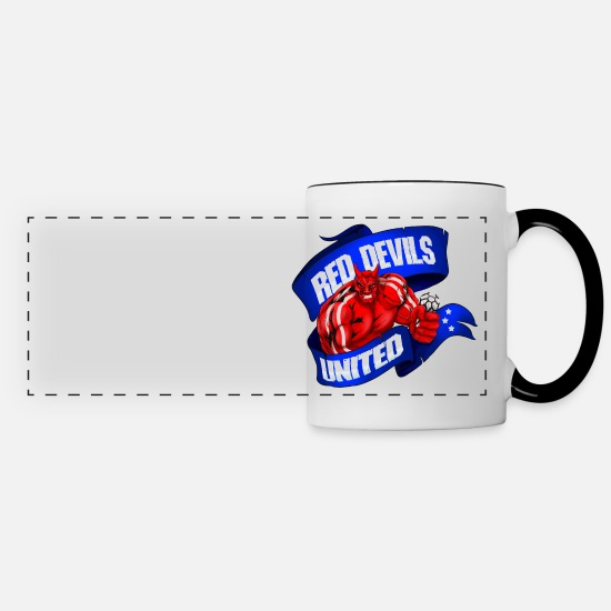 RED DEVIL - RED Manchester United F.C Personalised Mouse Mat