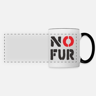 Fur No Fur - Panoramic Mug
