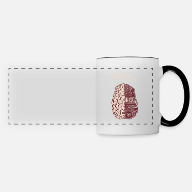 Techie Smart Engineer Brain - Engineering Nerd - Panoramic Mug